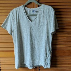 Divided by H&M Shirts - Cream colored v-neck